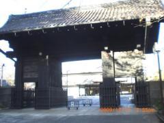 上野公園近くの寺院