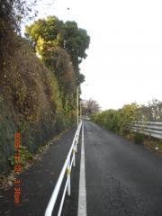 田端駅への坂道