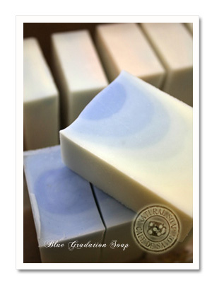 bluegradation soap