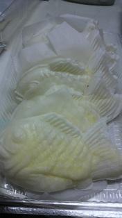 白いタイ焼き