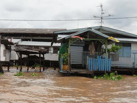 水路の玄関