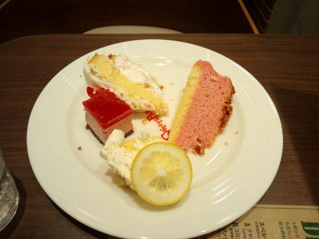 崩壊ケーキ