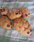 ハリネズミパン
