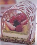Buche aux fruits frais