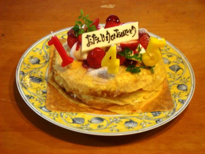 バースデーケーキ2011 05