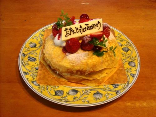 バースデーケーキ2011 01