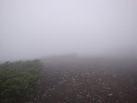 091017南月山への稜線