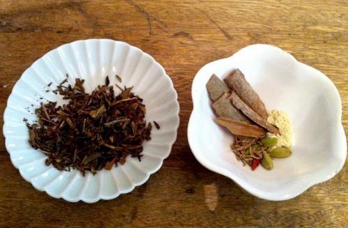 焙じ茶のチャイ