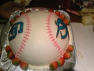 ドラゴンズケーキ