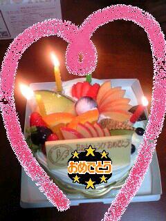 papaの誕生日(^^)