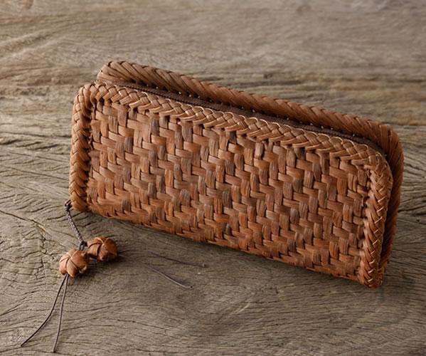 山ぶどう財布