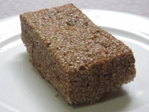 黒糖とさつまいもの蒸しパン