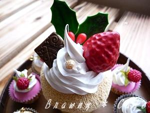 カップケーキ_クリスマス
