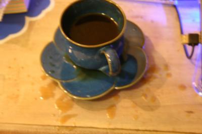 紅茶こぼし