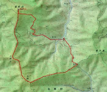 bukosan map