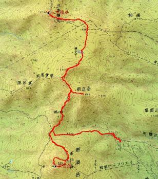 nasudake map