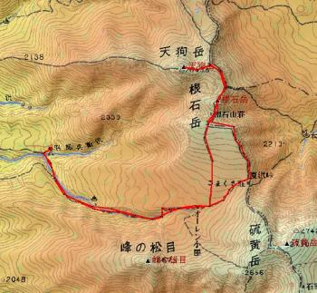 tengudake2 map