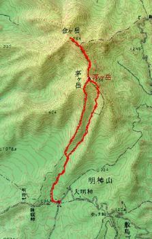 kayagatake map