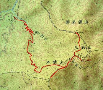 mitsutogeyama map