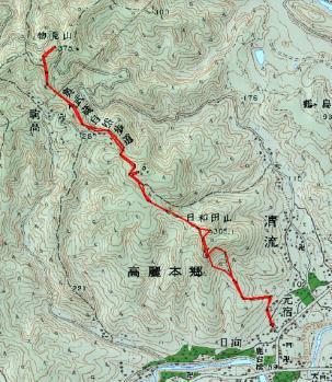 hiwada monomiyama map