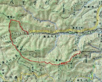 takaosan map