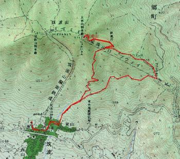 tsukubasan2 map