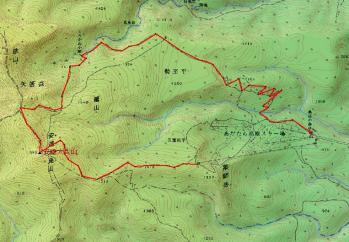 adatarayama map