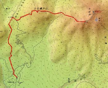 kotaroyama map