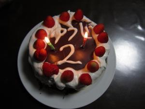 1.バースデーケーキ