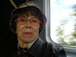 おばばの願いは、死ぬまえにナイアガラの滝をみること!です~