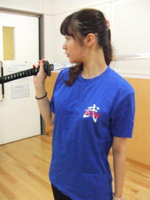 殺陣教室Tシャツ(前)