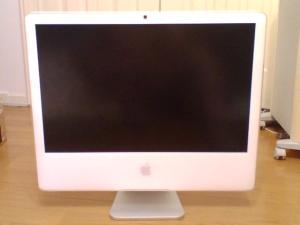 iMac24インチです