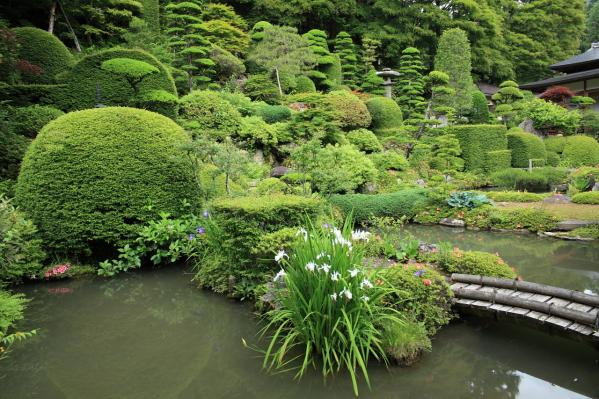 長興寺の庭園