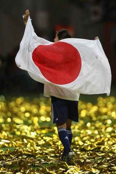 W杯優勝なでしこジャパン