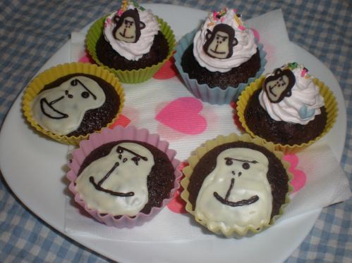 エネゴリくんカップケーキ