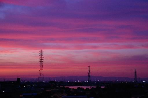 2010.6.24夕焼け2