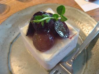 2010.7.25葡萄のチーズケーキ