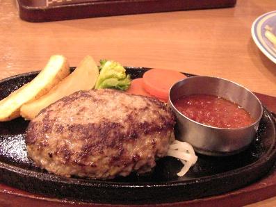 ハンバーグ(チーズ)