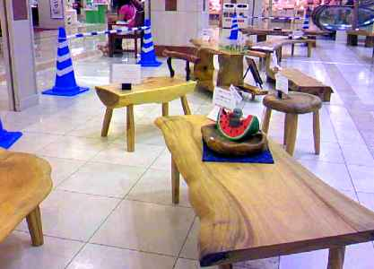 ゆめタウン久留米~テーブル。