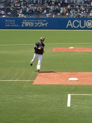 貫禄の走塁練習