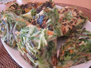 水菜チヂミ