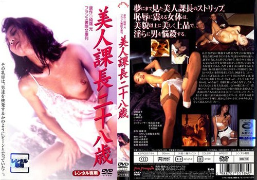 美人課長二十八歳DVDパッケージ