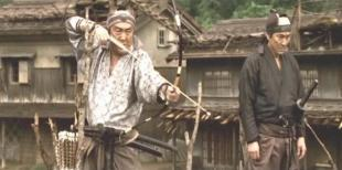 明石軍に弓を射る倉永左平太