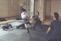 田川の手下たちと戦闘開始