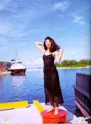 写真集の中の沢田夏子