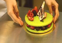 なつめが仕上げたケーキ