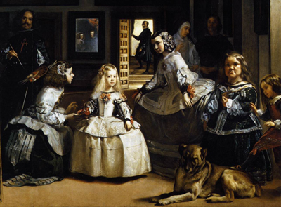 Diego Velaacute;zquez- The Ladies-in-Waiting