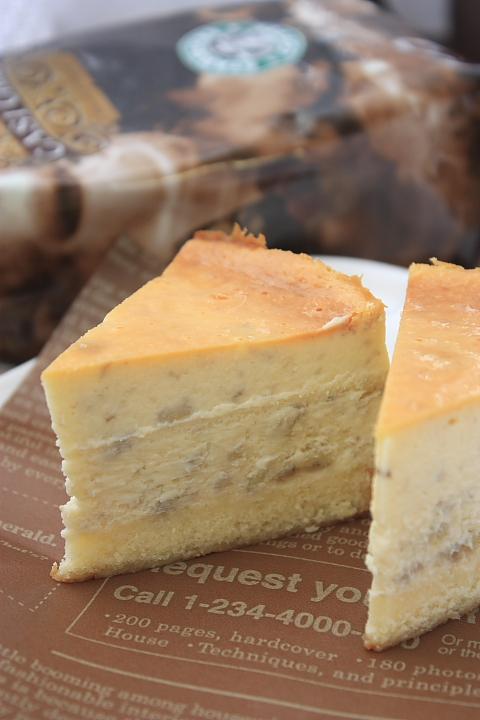 3-9バナナのニューヨークチーズケーキ