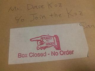 Returend Mail