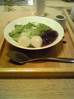抹茶豆腐チーズケーキ